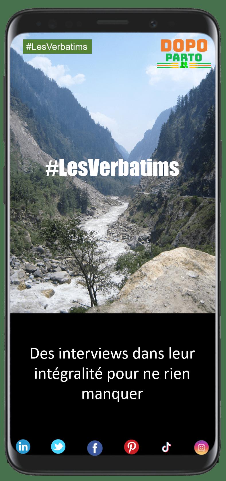 """#LesVerbatims Vignette Portrait DopoParto Les Verbatims """"Dopo Parto"""""""